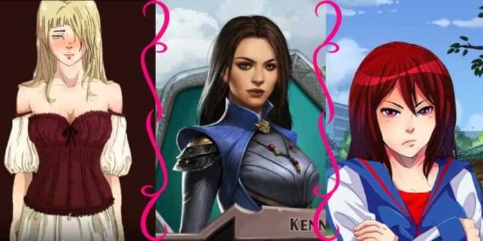 Visual Novel Sexist Stereotypes