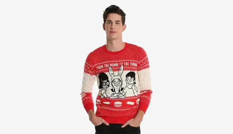 Bob's Burgers Ugly Holiday Sweater – $59.00