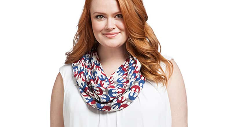 33 rebel alliance print infinity scarf 2799