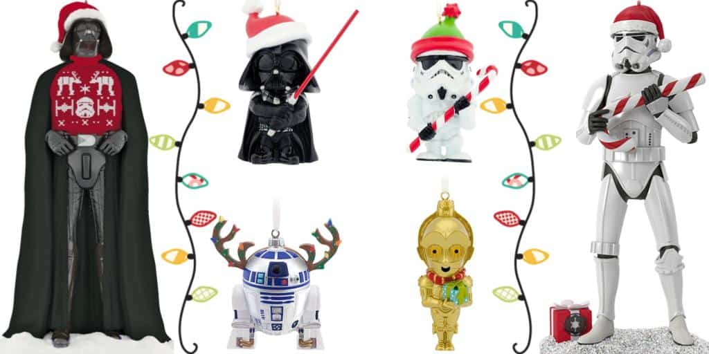 star wars christmas ornaments 20 best star wars christmas ornaments 2017