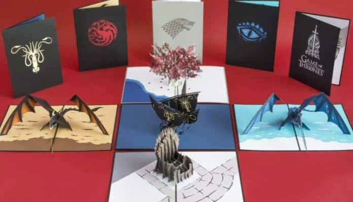 Game of Thrones Paper Art Collection By Lovepop