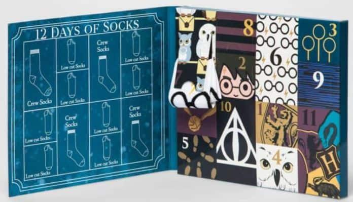 Harry Potter 12 Days of Socks Set