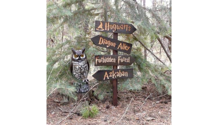 Harry Potter Places Lawn Sign