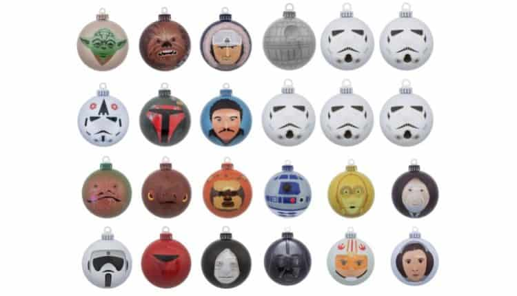 Set of 24 Star Wars Baubles
