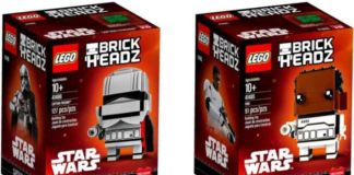 Star Wars LEGO BrickHeadz Captain Phasma and Finn