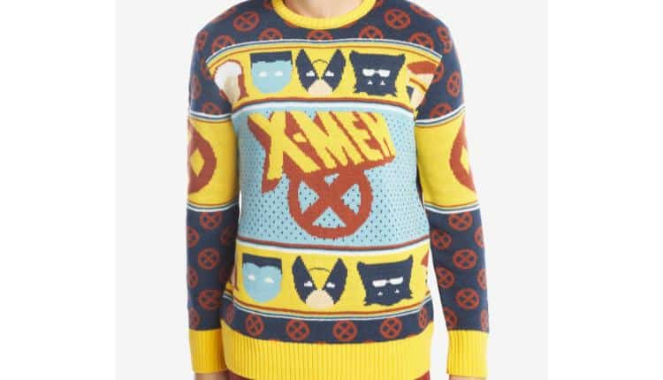 x men christmas sweater - Christmas Sweaters Men