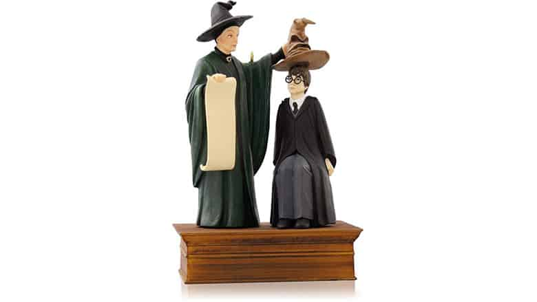 hallmark harry potter sorting hat