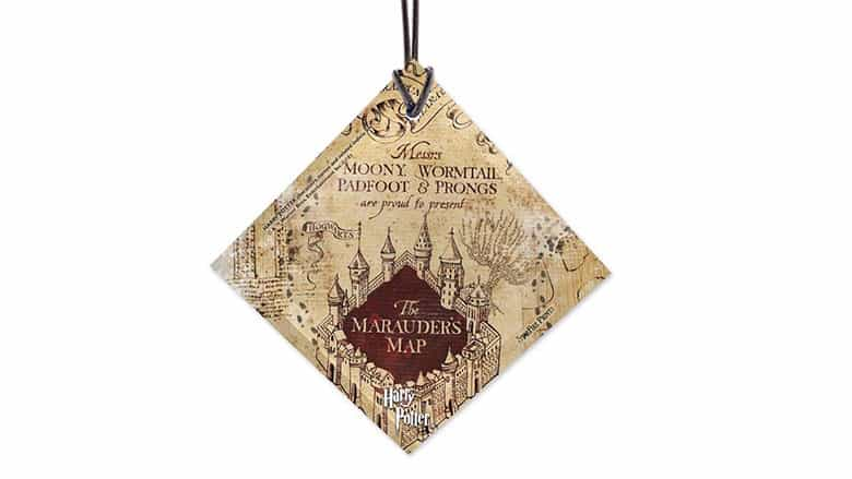 marauders map ornament