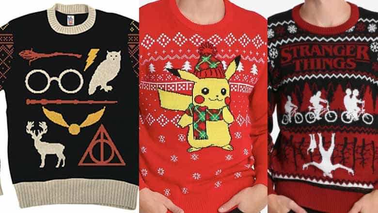 Christmas Jerseys.31 Nerdy Ugly Christmas Sweaters The Ultimate List 2019