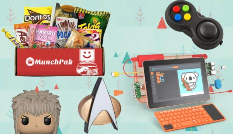 what to get my geeky boyfriend for christmas