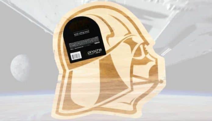 Darth Vader Wood Cutting Board
