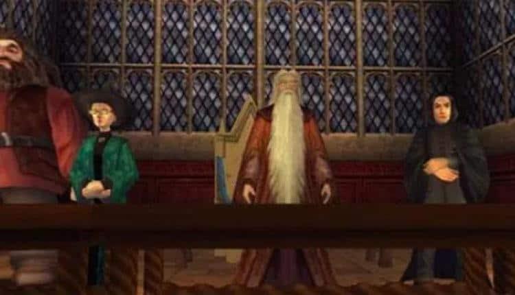harry potter hogwarts spil