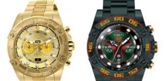 Invicta Star Wars Watches - Boba Fett and C3PO