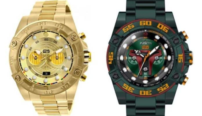 Invicta Star Wars Watches - Boba Fett and C3PO