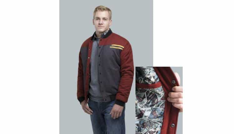 Marvel Iron Man Secret Identity Jacket