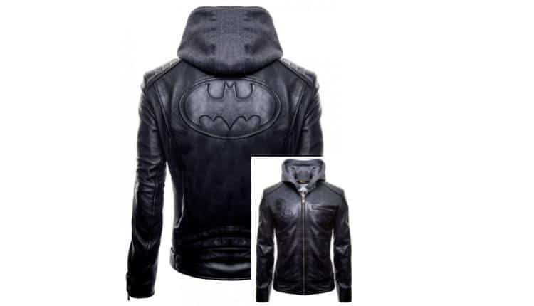 Justice League: 'Gotham Outlaw' Batman Leather Jacket