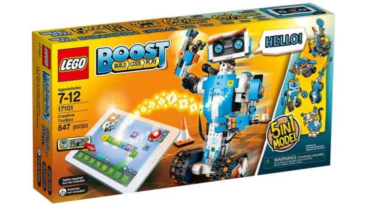 LEGO Boost Creative Toolbox 17101 Building and Coding Kit – $159.95