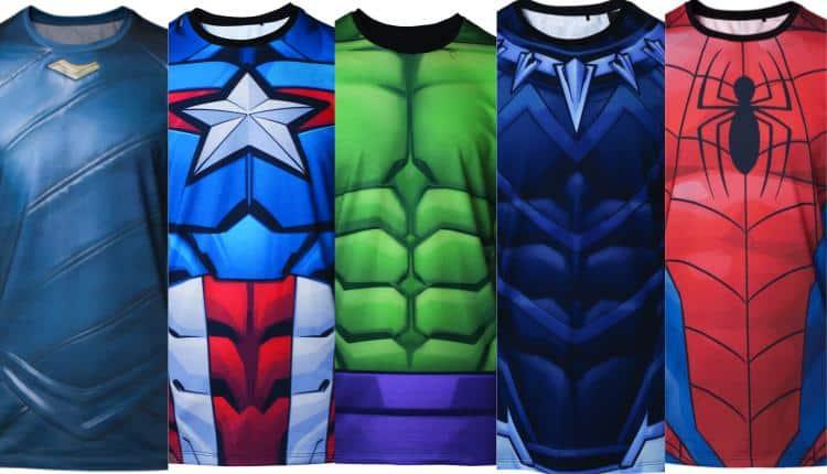 Marvel Superhero T-Shirts