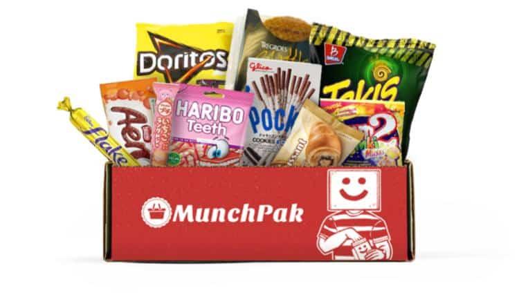53 MunchPak Subscription Starting At 2495