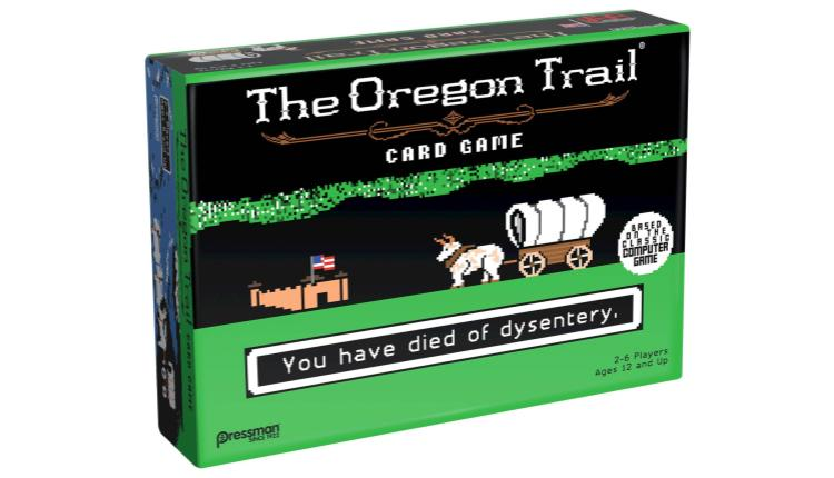 The Oregon Trail Card Game – $14.99