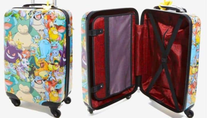 Pokemon Evolved Spinner Luggage