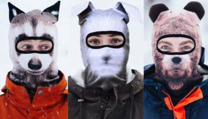 Realistic Animal Ski Masks By Beardo