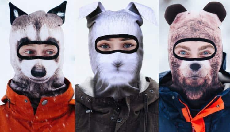 Realistic Animal Ski Masks By Beardo