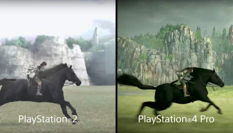 Shadow Of The Colossus Comparison Trailer