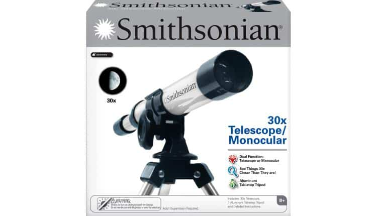 Smithsonian® 30X Telescope/ Monocular Kit