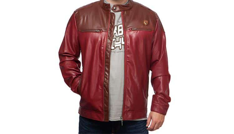 Guardians of the Galaxy Star Lord Moto Jacket
