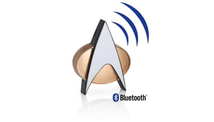 Star Trek TNG Bluetooth ComBadge – $69.95