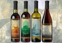 The Lord of the Rings Inspired Wine Collection