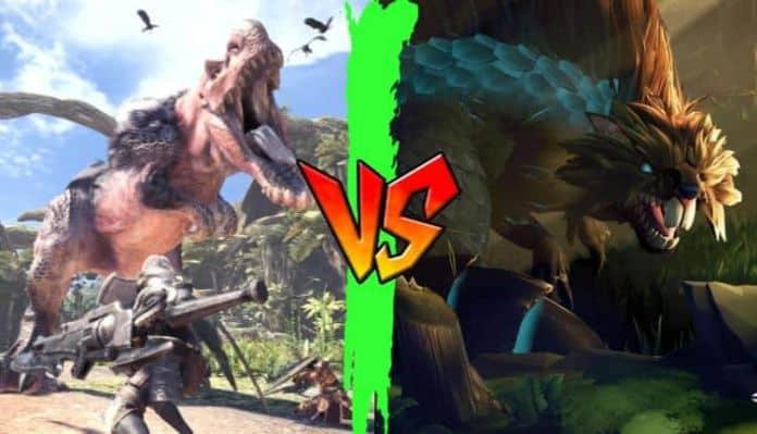 Dauntless vs. Monster Hunter