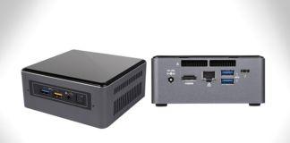 intel NUC 7 mini PC