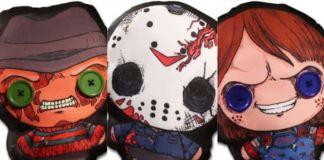 Flatzos Plush Series - Freddy, Chucky, and Jason