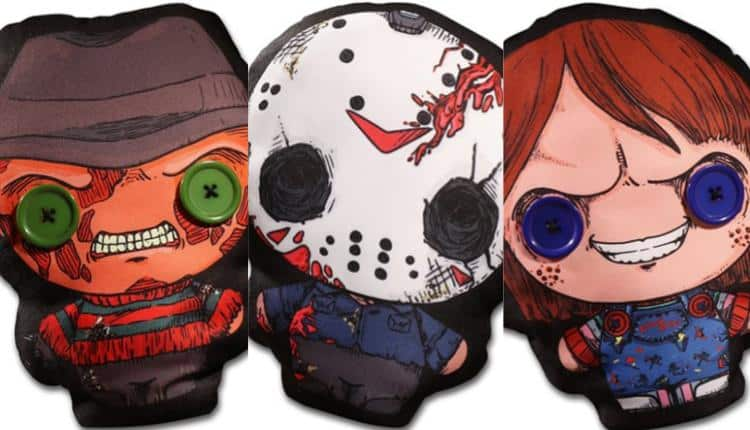 Flatzos Plush Series - Freddy, Chucky, and Jason
