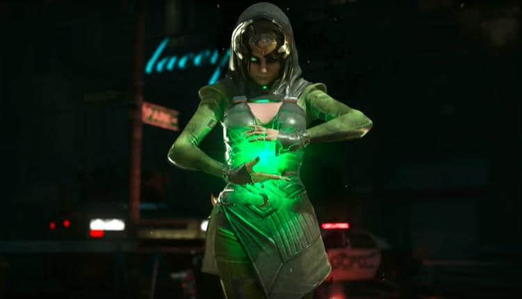 this injustice 2 enchantress trailer is badass