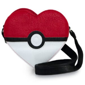 loungefly pokeball heart bag