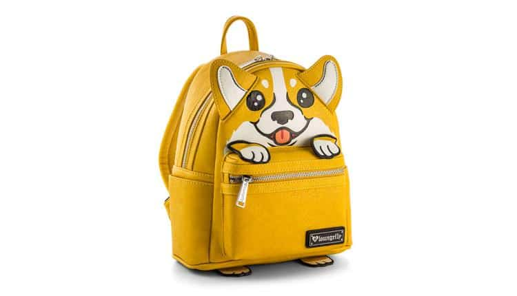 Corgi Appliqué Mini Backpack