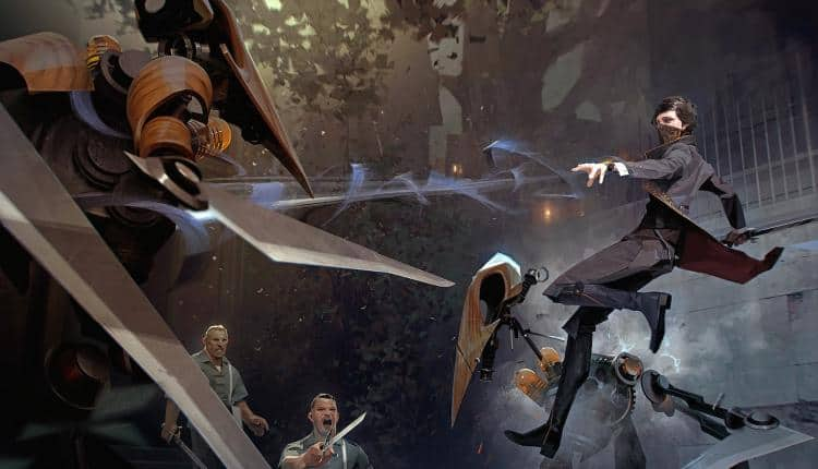 Concept art for Dishonored 2
