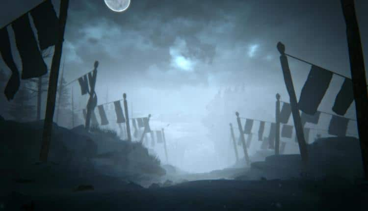 A screenshot of Kholat gameplay