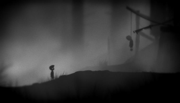 A screenshot of Limbo gameplay