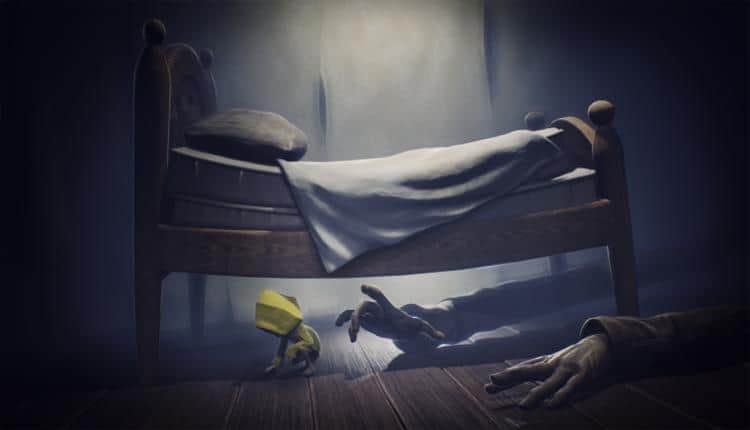 A screenshot of Little Nightmares gameplay