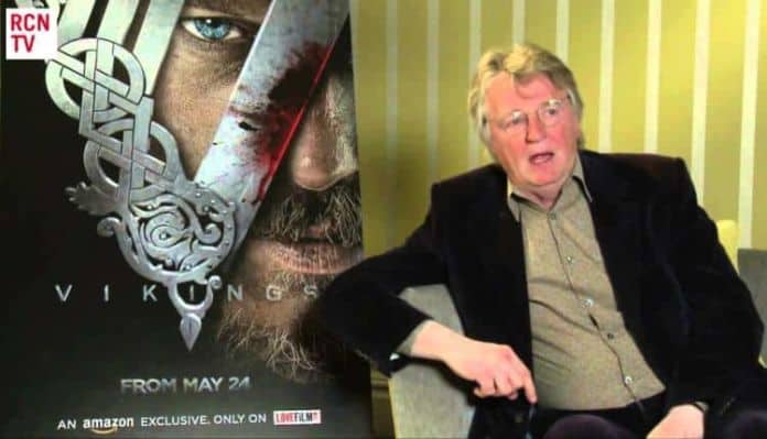 Vikings creator Michael Hirst in an interview with Red Carpet News