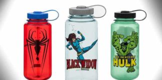 marvel nalgene bottles