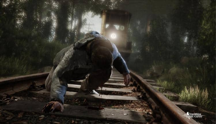 A promotional image for The Vanishing of Ethan Carter