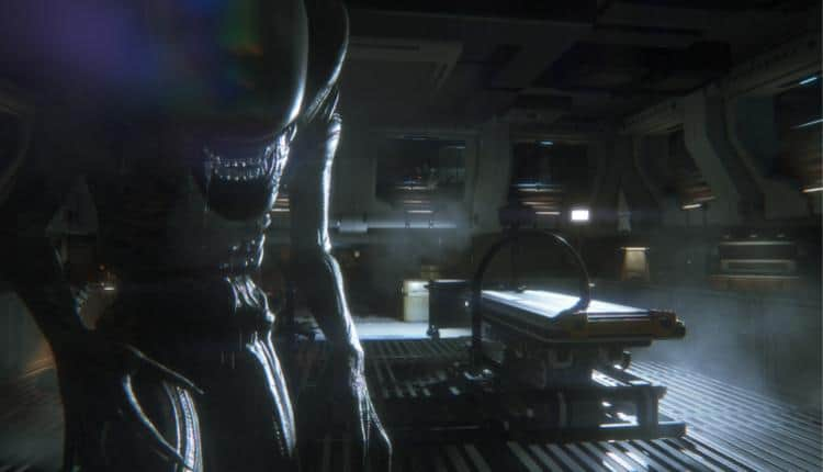 A screenshot of Alien Isolation gameplay