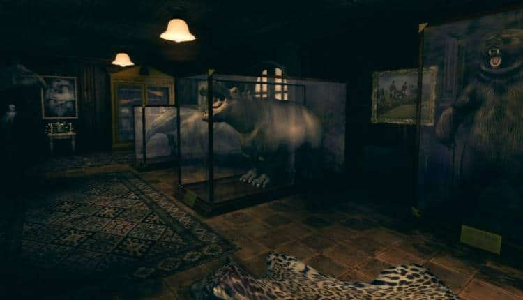 A screenshot of Amnesia A Machine for Pigs gameplay