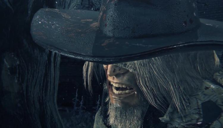 A screenshot of Bloodborne gameplay