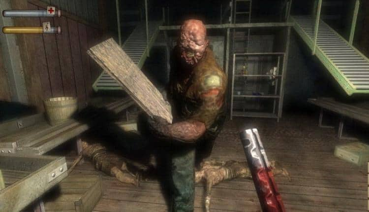 A screenshot of Condemned Criminal Origins gameplay